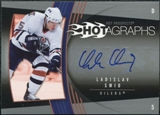 2006/07 Upper Deck Hot Prospects Hotagraphs #HLS Ladislav Smid Autograph