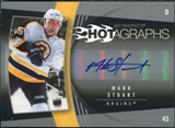 2006/07 Upper Deck Hot Prospects Hotagraphs #HMA Mark Stuart Autograph