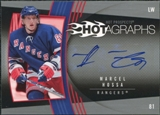 2006/07 Upper Deck Hot Prospects Hotagraphs #HMH Marcel Hossa Autograph