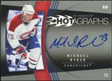 2006/07 Upper Deck Hot Prospects Hotagraphs #HMR Michael Ryder Autograph