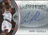 2006/07 Upper Deck SP Authentic Chirography #AI Andre Iguodala Autograph