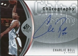 2006/07 Upper Deck SP Authentic Chirography #BE Charlie Bell Autograph