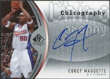 2006/07 Upper Deck SP Authentic Chirography #CM Corey Maggette Autograph