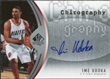 2006/07 Upper Deck SP Authentic Chirography #IU Ime Udoka Autograph