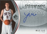 2006/07 Upper Deck SP Authentic Chirography #MI Mile Ilic Autograph