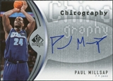 2006/07 Upper Deck SP Authentic Chirography #PA Paul Millsap Autograph