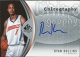 2006/07 Upper Deck SP Authentic Chirography #RH Ryan Hollins Autograph