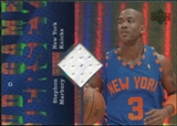 2006/07 Upper Deck UD Reserve Game Jerseys #MA Stephon Marbury