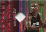 2006/07 Upper Deck UD Reserve Game Patches #AW Antoine Walker