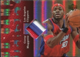 2006/07 Upper Deck UD Reserve Game Patches #CM Corey Maggette