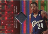 2006/07 Upper Deck UD Reserve Game Patches #DM Donyell Marshall