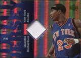 2006/07 Upper Deck UD Reserve Game Patches #QR Quentin Richardson