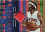 2006/07 Upper Deck UD Reserve Game Patches #RH Richard Hamilton