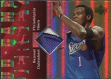 2006/07 Upper Deck UD Reserve Game Patches #SD Samuel Dalembert
