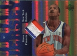 2006/07 Upper Deck UD Reserve Game Patches #SF Steve Francis