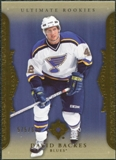 2006/07 Upper Deck Ultimate Collection #93 David Backes /699