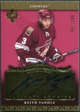 2006/07 Upper Deck Ultimate Collection #124 Keith Yandle Autograph /299