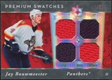2006/07 Upper Deck Ultimate Collection Premium Swatches #PSJB Jay Bouwmeester 42/50
