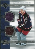 2006/07 Upper Deck Ultimate Collection Ultimate Debut Threads Jerseys #DJFN Filip Novak /150