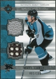 2006/07 Upper Deck Ultimate Collection Ultimate Debut Threads Jerseys #DJMC Matt Carle /150