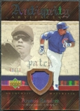 2007 Upper Deck Artifacts Antiquity Artifacts Patch #AR Aramis Ramirez /50