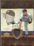 2007 Upper Deck Artifacts Antiquity Artifacts Patch #BO Jeremy Bonderman /50