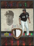 2007 Upper Deck Artifacts Antiquity Artifacts Patch #JD Jermaine Dye /50