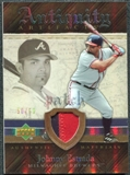 2007 Upper Deck Artifacts Antiquity Artifacts Patch #JE Johnny Estrada /50