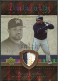 2007 Upper Deck Artifacts Antiquity Artifacts Patch #PF Prince Fielder /50
