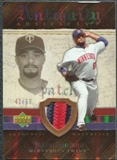 2007 Upper Deck Artifacts Antiquity Artifacts Patch #SA Johan Santana /50