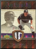 2007 Upper Deck Artifacts Antiquity Artifacts Patch #TH Todd Helton 10/50