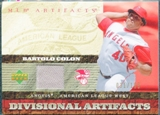 2007 Upper Deck Artifacts Divisional Artifacts #BC Bartolo Colon /199
