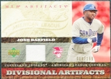 2007 Upper Deck Artifacts Divisional Artifacts #JO Josh Barfield /199