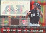 2007 Upper Deck Artifacts Divisional Artifacts Limited #JD Jermaine Dye /130