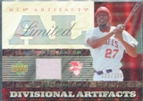 2007 Upper Deck Artifacts Divisional Artifacts Limited #VG Vladimir Guerrero /130