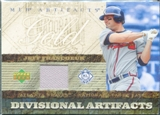 2007 Upper Deck Artifacts Divisional Artifacts Gold #JF Jeff Francoeur