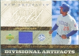 2007 Upper Deck Artifacts Divisional Artifacts Gold #DL Derrek Lee