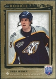 2006/07 Upper Deck Be A Player #207 Shea Weber RC /999