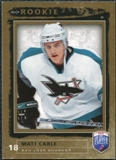 2006/07 Upper Deck Be A Player #208 Matt Carle RC /999