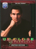 2006/07 Upper Deck Be A Player Up Close and Personal #UC23 Jonathan Cheechoo /999
