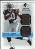 2007 Upper Deck SP Rookie Threads Silver #RTDJ Dwayne Jarrett