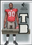 2007 Upper Deck SP Rookie Threads Silver #RTGA Gaines Adams