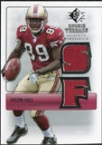 2007 Upper Deck SP Rookie Threads Silver #RTJH Jason Hill
