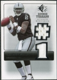 2007 Upper Deck SP Rookie Threads Silver #RTJR JaMarcus Russell