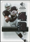 2007 Upper Deck SP Rookie Threads Silver #RTMB Michael Bush
