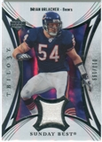 2007 Upper Deck Trilogy Sunday Best Jersey Silver #BU Brian Urlacher /199