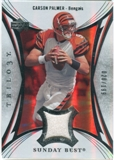 2007 Upper Deck Trilogy Sunday Best Jersey Silver #CP Carson Palmer /199