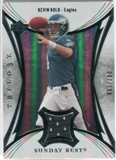 2007 Upper Deck Trilogy Sunday Best Jersey Silver #KK Kevin Kolb /199