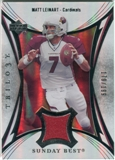 2007 Upper Deck Trilogy Sunday Best Jersey Silver #ML Matt Leinart /199