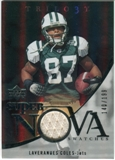 2007 Upper Deck Trilogy Supernova Swatches Silver #LC Laveranues Coles /199